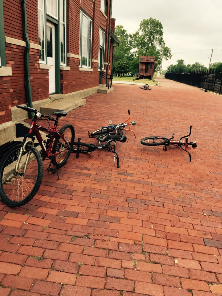 Bikes at the Library